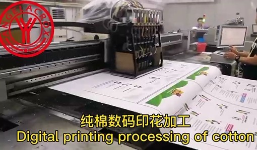 Cotton Digital Printing Processing