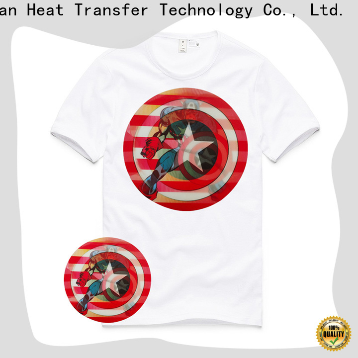 angelacrox lenticular 3d heat transfer factory price for tops
