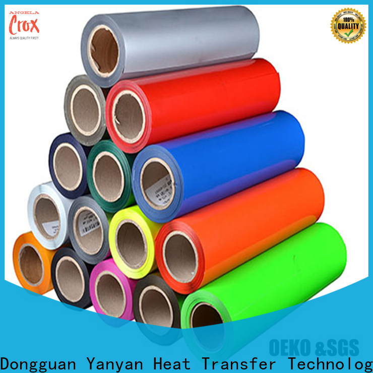 angelacrox long lasting heat transfer vinyl wholesale for bags