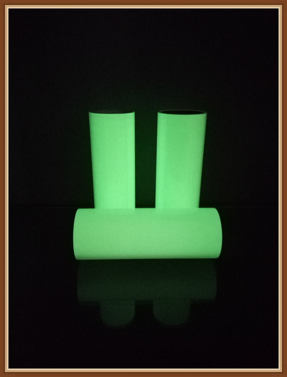 Wholesale high brightness glow in the dark vinyl for t-shirt