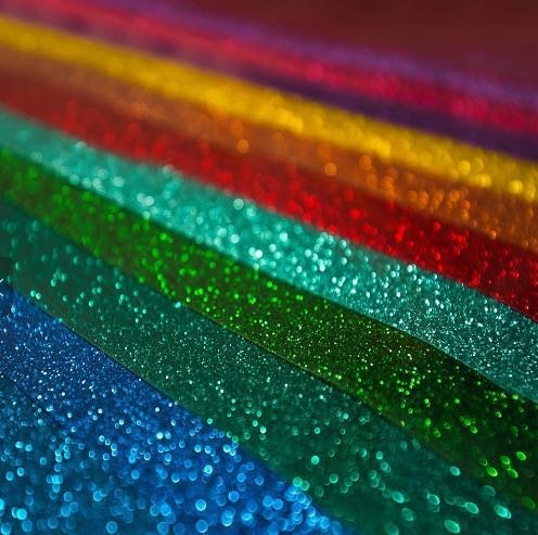 High quality Glitter vinyl heat transfer PU Flex Glitter heat transfer vinyl sheets