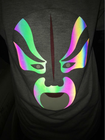 Wholesale reflective heat transfer vinyl for garment printing film