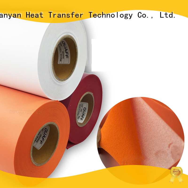 stable heat transfer vinyl factory price for bags
