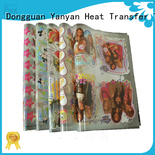 angelacrox heat transfer sticker manufacturer for industry