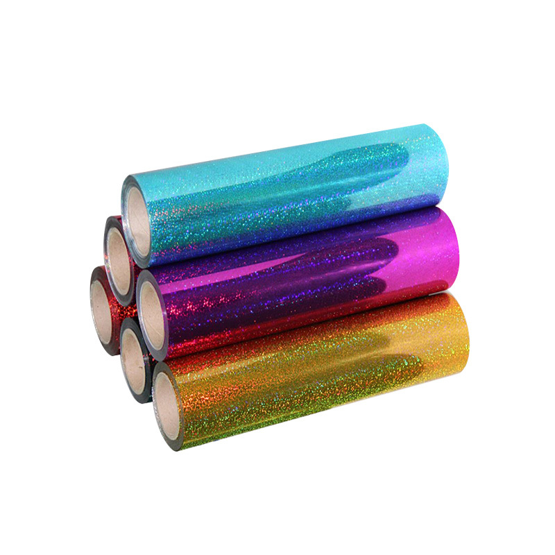 Holographic heat transfer vinyl
