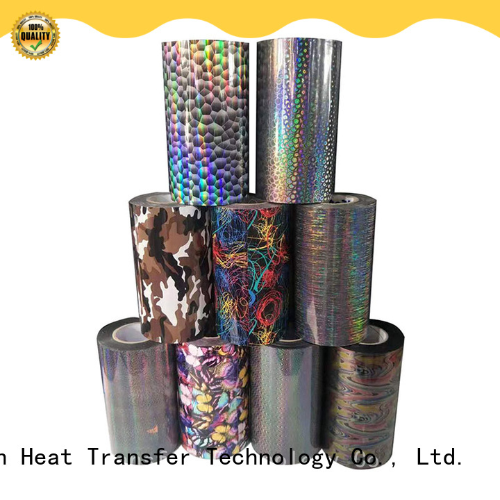 printable hologram heat transfer film factory for canvas